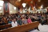 Kapolri dan Panglima TNI serukan pesan damai di malam perayaan Natal