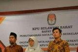 KPU Sulbar gelar raker digitalisasi data Pemilu 2019