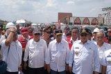 Menteri PUPR dan Menhub tinjau tol Lampung