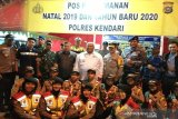 Gubernur-Kapolda gelar Operasi Lilin Anoa memantau keamanan Natal