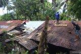 Dua rumah warga Bukit Gado-Gado tertimpa pohon