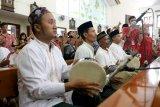 Tabuhan rebana santri iringi misa Natal di Gereja Katolik Mater Dei di Semarang