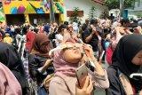 Hundreds visitors at Jakarta Planetarium to witness annular solar eclipse
