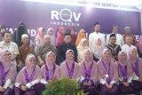 Dorong SDM unggul, lembaga pendidikan RQV Indonesia wisuda puluhan hafiz