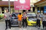 Polisi dor kaki bandit yang rampok sopir Go-Car