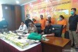 Bareskrim sita 24 kg sabu-sabu asal Malaysia