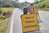 Hujan deras di Toraja memicu longsor