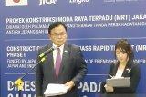 Jepang harap MRT Jakarta atasi masalah kemacetan