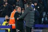 Rodgers berharap Vardy tampil di semifinal leg kedua  lawan Aston Villa