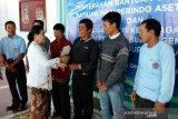 BPJAMSOSTEK bagikan kartu  kepesertaan pekerja informal