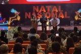 Saat perayaan Natal, Presiden Jokowi tegaskan jamin kebebasan beragama