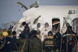 Pesawat maskapai Ukraina angkut 180 jatuh di Iran