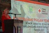 Bupati Purbalingga janjikan umrah gratis bagi warga rajin donor darah