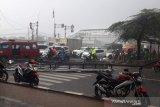 Polisi cari pemilik reklame roboh di Cengkareng tewaskan Ojek Online asal Bekasi