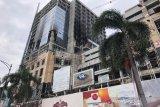 Proyek megah Hotel Tentrem Semarang terbakar