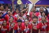Manajemen Persib gelar konvoi penyambutan juara liga 1 putri