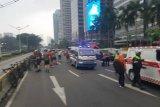 Polisi tahan  ASN tabrak tujuh pesepeda  di Jalan Jend. Sudirman