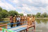 Warga Desa di OKU jadikan  rawa objek wisata Tirta Marja