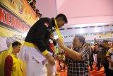 Lampung pimpin perolehan medali Kejurnas Karate Lampung Open 2019