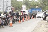 Arus lalu lintas menuju objek wisata makin padat