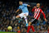 Man City hentikan rekor tandang tak terkalahkan Sheffield United