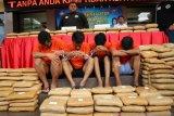 Polisi: Pengedar janjikan upah Rp50 juta bawa ganja dari Aceh