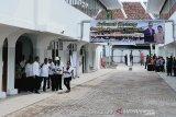 Presiden Jokowi tinjau progres pembangunan Pasar Djohar Semarang