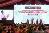 Presiden Jokowi puji pedagang mi jualan dengan aplikasi Whatsapp