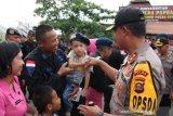 Kapolda Sumsel sambut kedatangan  454 Brimob BKO Papua