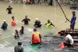 Pencarian korban Bus  Sriwijaya dihentikan total