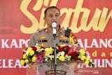 Polres Malang tingkatkan pengawasan di daerah wisata jelang pergantian tahun