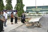 Pangdam XIII/Merdeka lakukan peletakkan batu pertama pembangunan Gereja