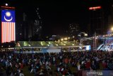 Mahathir hadiri Tahun Baru di Dataran Merdeka