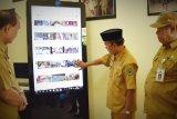 Anjungan Informasi Digital sarana publikasi kemajuan Kapuas