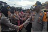 1.222 anggota Polri dan ASN di Polda Papua naik pangkat