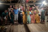 Belasan wisatawan Jepang bertahun baru di Pulo Cinta Gorontalo