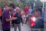 Pencuri ini terkurung di toko yang dibobolnya di Lombok Timur
