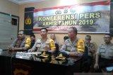 Sepanjang 2019, kasus tindak pidana di Polres Baubau menurun 16,9 persen