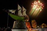 Kembang api 2020 di Makassar