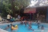 Objek wisata Suban Air Panas Curup Timur dipadati pengunjung