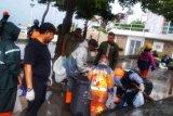 Pramuka peduli bantu Pemkot Makassar bersihkan sampah Pantai Losari