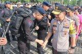 Kapolda Sulsel sambut kepulangan 199 anggota Brimob BKO di Papua