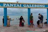 Tahun baru, tempat wisata di Takalar dipadati pengunjung