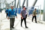 71 persen  dana Jembatan Muara Teweh - Jingah dari APBD Barut