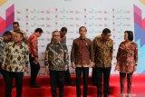 Jokowi kicks off stock trading in 2020 at BEI