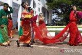 Kirab budaya meriahkan HUT ke XIII Konawe Utara