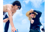Madonna pamerkan foto bersama pacar barunya