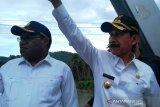 Wamen PUPR datang, Solok Selatan diminta secepatnya siapkan data relokasi korban banjir