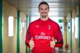 Baru bergabung ke Milan, Ibrahimovic langusng cetak gol di laga perdana