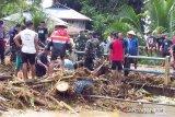 Satu korban banjir bandang di Kabupaten Sangihe ditemukan meninggal